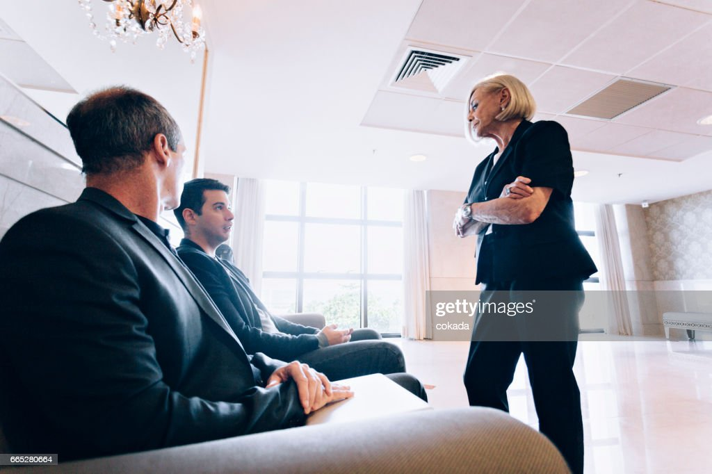 Bossy Woman Scolding Coworkers Stock Photo - Getty Images