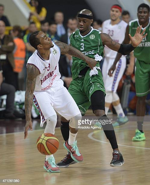 Bost Dee of Trabzonspor Medical Park in action during the FIBA EuroChallenge Final Four basketball match between Trabzonspor Medical Park and...