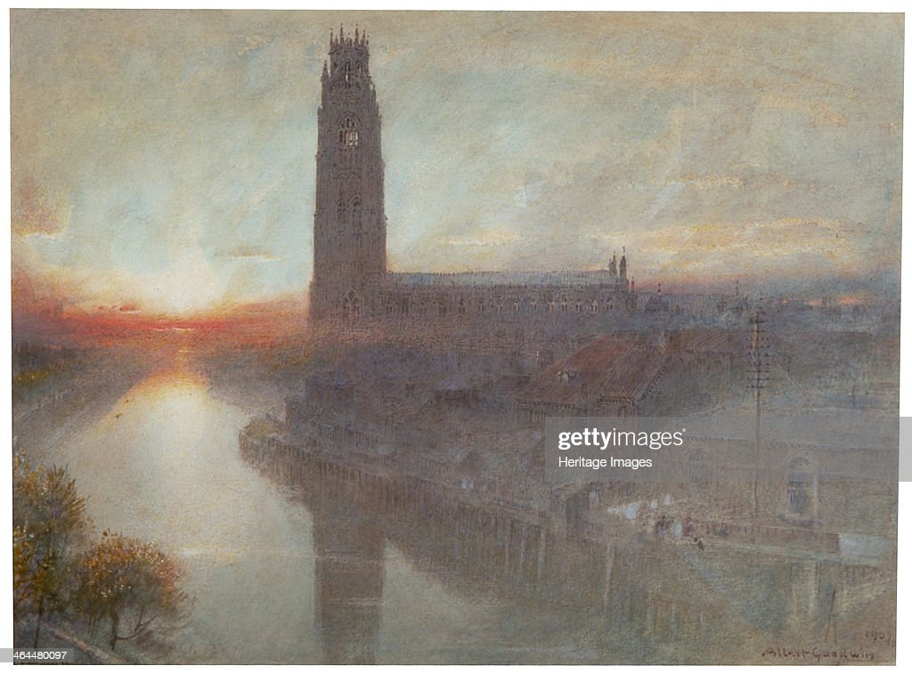 'Boston', 1907. Artist: Albert Goodwin : News Photo