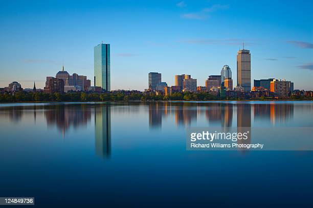 boston after sunrise - boston stock pictures, royalty-free photos & images