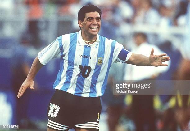 CUP 1994 Boston ARGENTINIEN NIGERIA 21 Diego MARADONA/ARG
