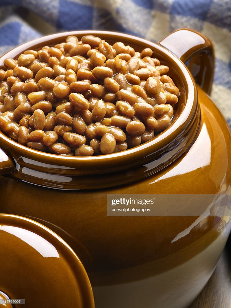 Boston Baked beans : Stock Photo