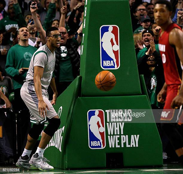 Boston Boston Celtics guard Evan Turner let out a howl after his dunk tied the game at 6969 during the fourth quarter The Boston Celtics take on the...