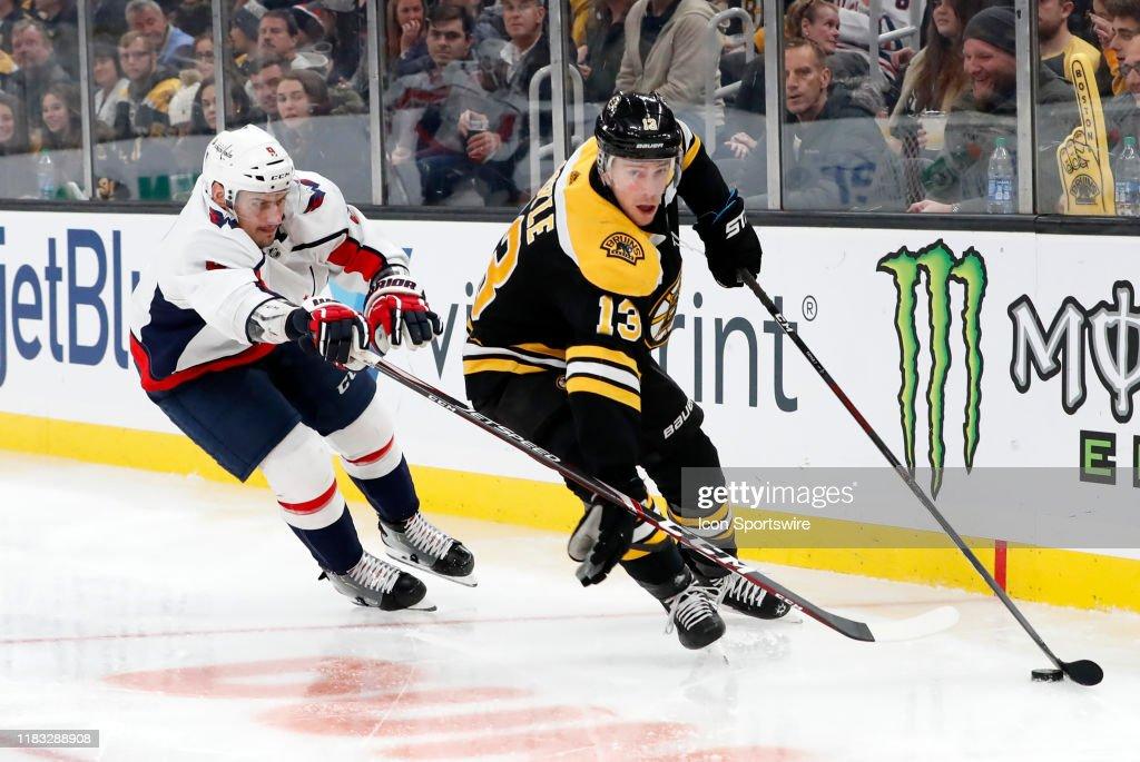 NHL: NOV 16 Capitals at Bruins : News Photo