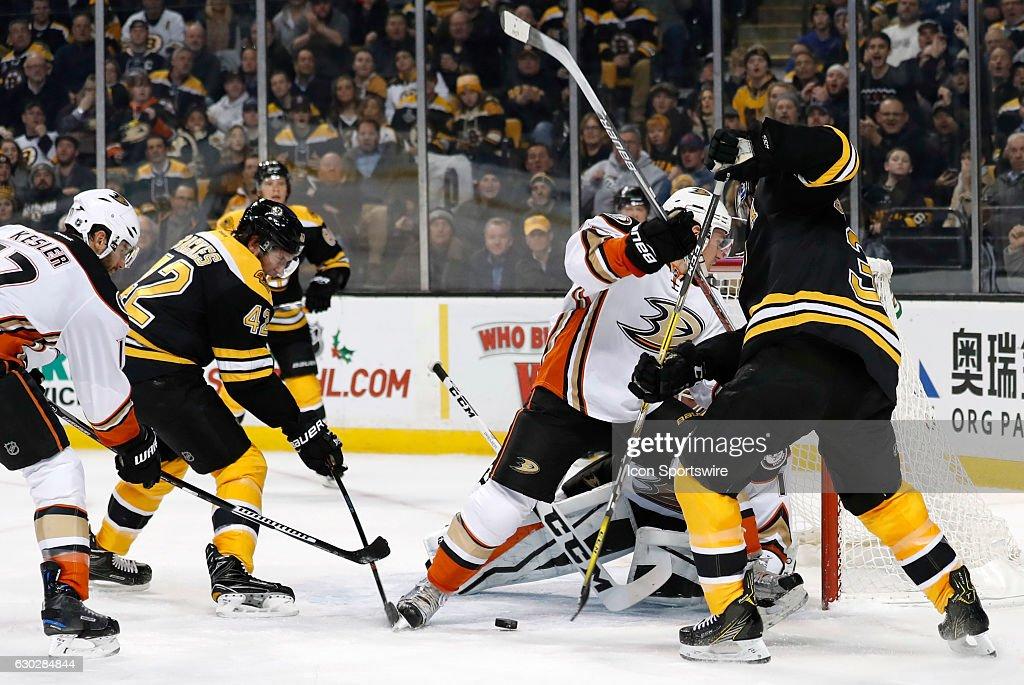 NHL: DEC 15 Ducks at Bruins : News Photo
