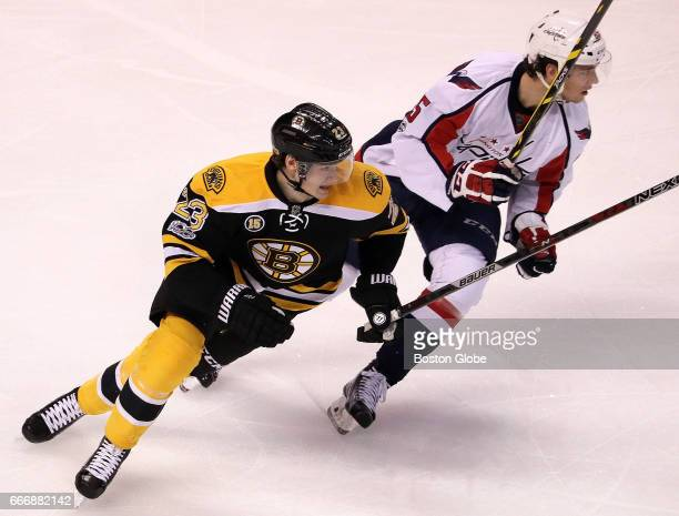 Boston Bruins center Jakob Forsbacka Karlsson makes his debut as a member of the Boston Bruins The Boston Bruins host the Washington Capitals in the...