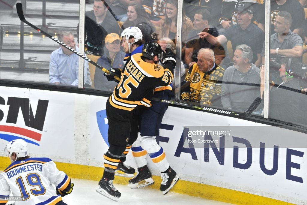 NHL: JUN 12 Stanley Cup Final - Blues at Bruins : News Photo