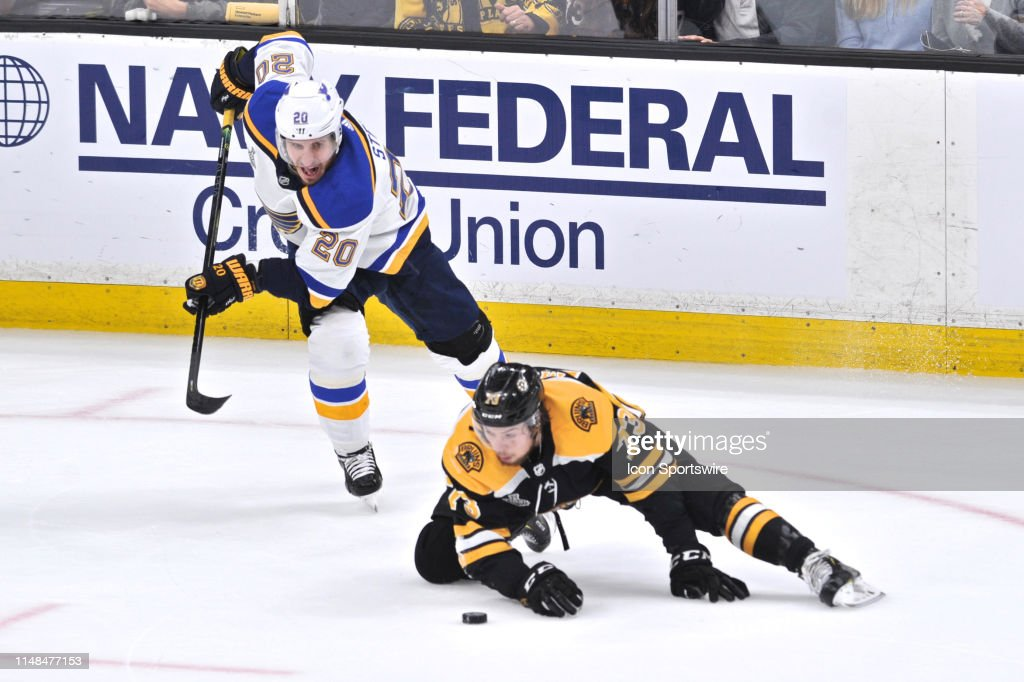 NHL: JUN 06 Stanley Cup Final - Blues at Bruins : News Photo
