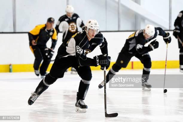 Boston Bruins defenseman Daniel Bukac during Bruins Development Camp on July 8 2017 at Warrior Ice Arena in Boston Massachusetts
