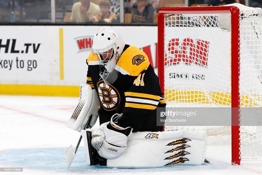 NHL: SEP 26 Preseason - Red Wings at Bruins : News Photo