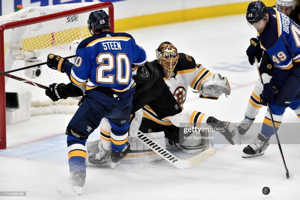 NHL: JUN 01 Stanley Cup Final - Bruins at Blues : News Photo