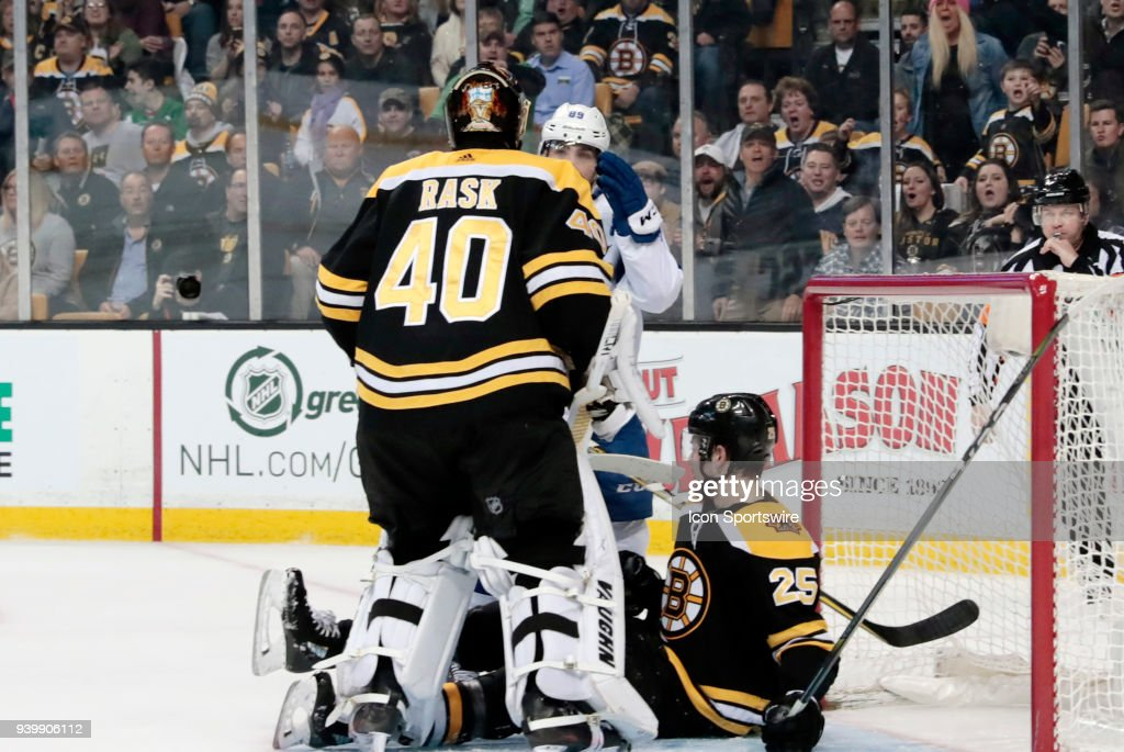 NHL: MAR 29 Lightning at Bruins : News Photo