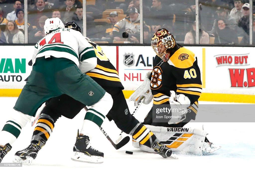 NHL: JAN 08 Wild at Bruins : News Photo