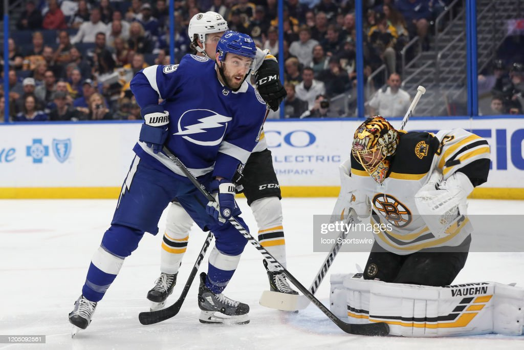NHL: MAR 03 Bruins at Lightning : News Photo