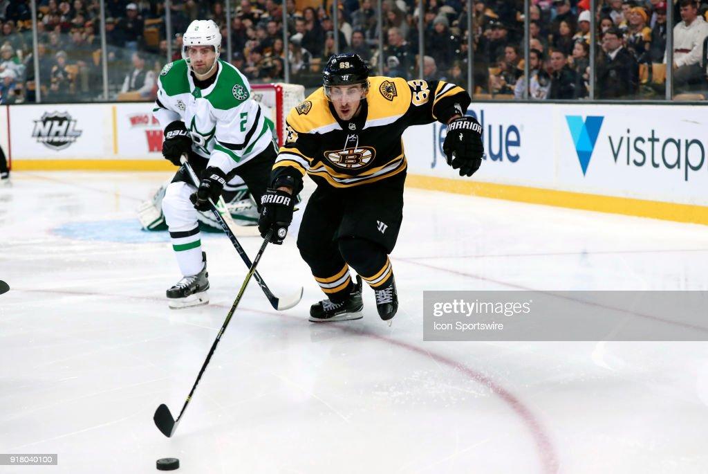NHL: JAN 15 Stars at Bruins : News Photo