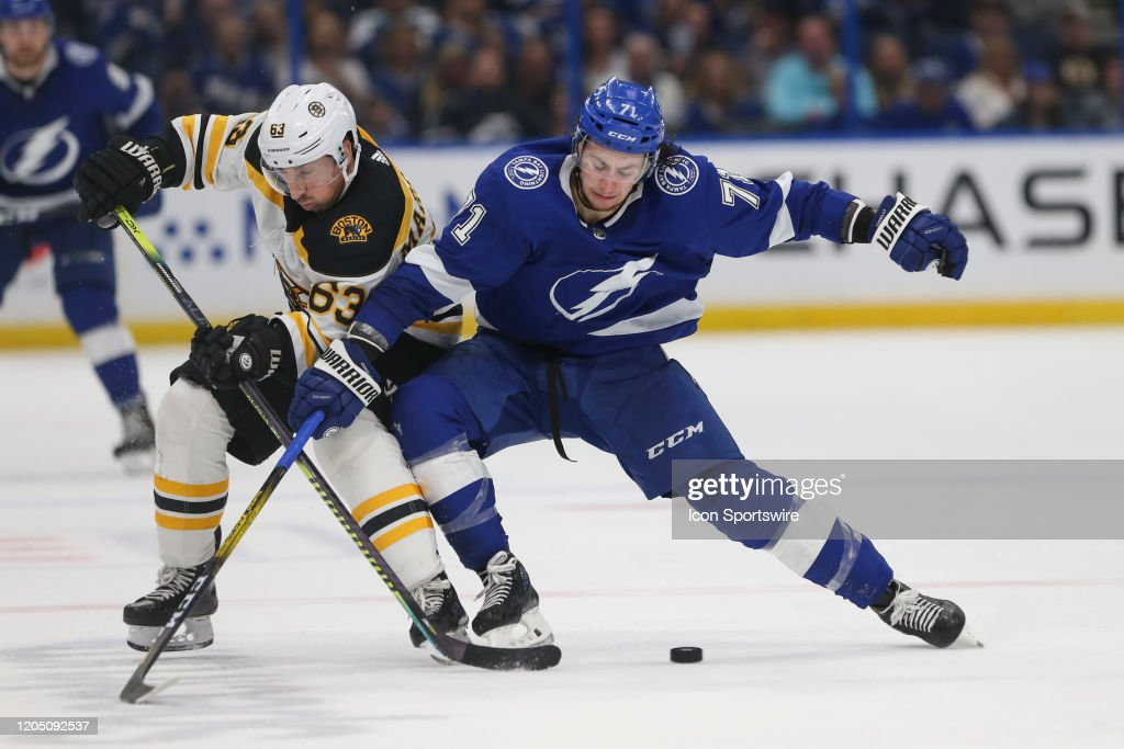 NHL: MAR 03 Bruins at Lightning : News Photo