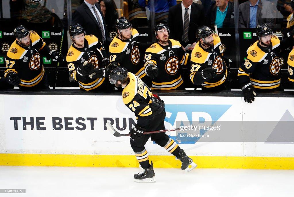 NHL: JUN 06 Stanley Cup Final - Blues at Bruins : News Photo