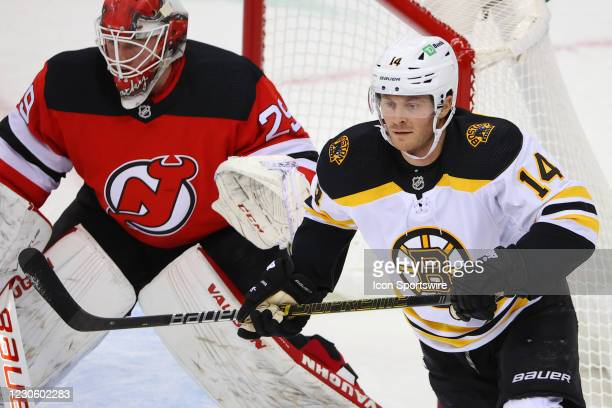 Boston Bruins right wing Chris Wagner skates during the National Hockey League game between the New Jersey Devils and the Boston Bruins on January...