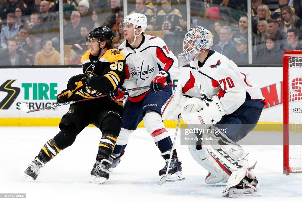 NHL: JAN 10 Capitals at Bruins : News Photo