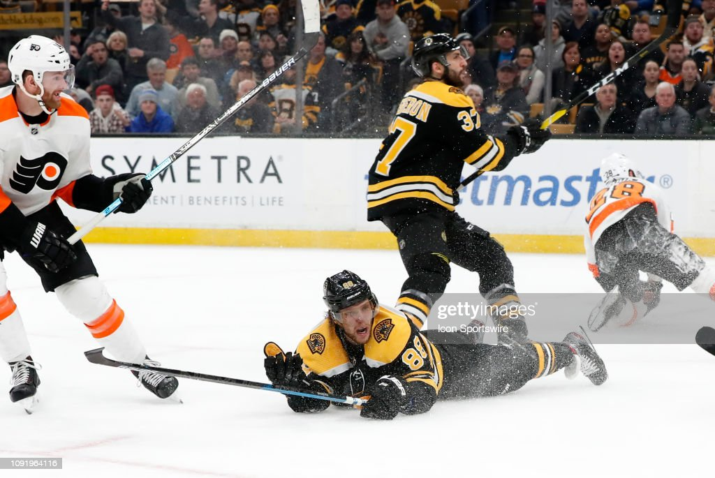 NHL: JAN 31 Flyers at Bruins : News Photo