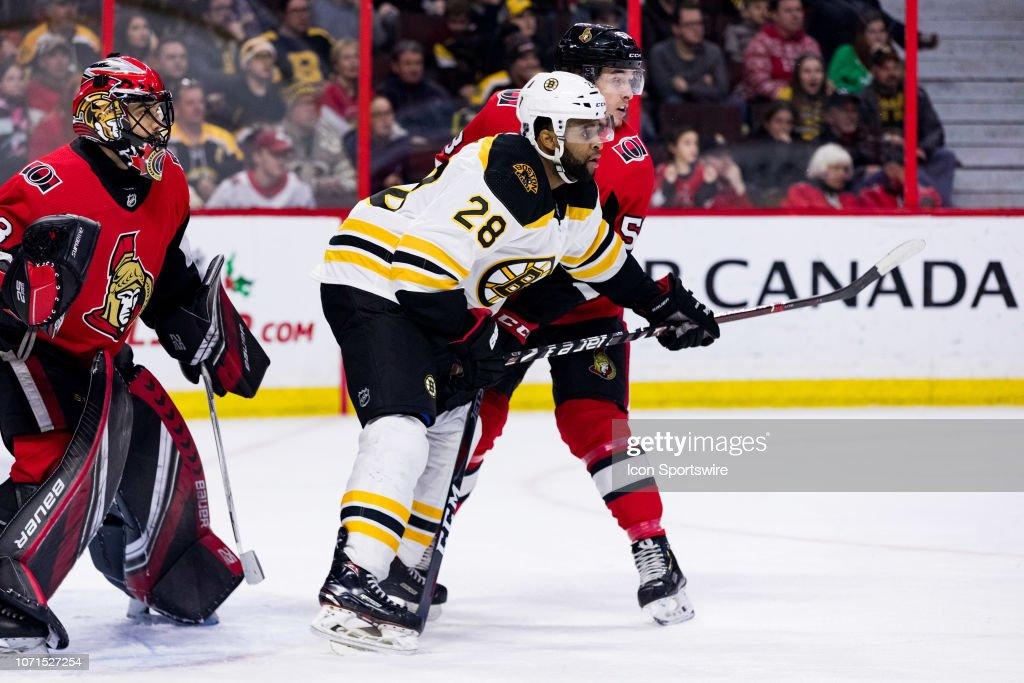 NHL: DEC 09 Bruins at Senators : News Photo