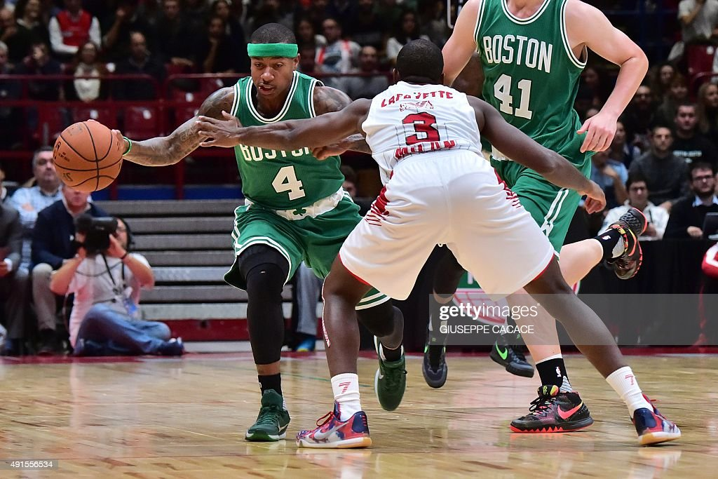 BASKET-NBA-BOSTON-MILAN : News Photo