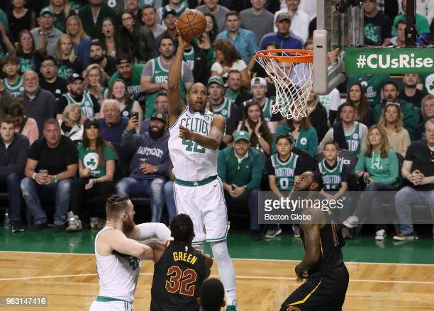 Boston Celtics Al Horford scores a basket in the first half The Boston Celtics hosted the Cleveland Cavaliers for Game Seven of their NBA Eastern...