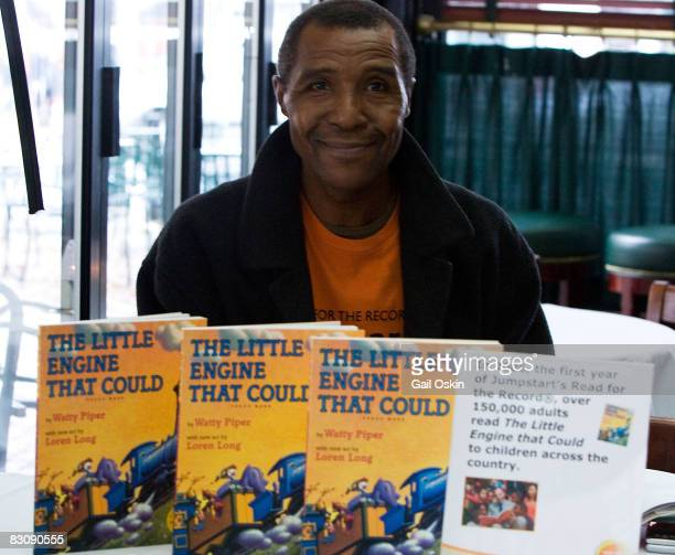 Boston Celtics legend Jo Jo White attends Jumpstart's Read for the Record at Faneuil Hall on October 2 2008 in Boston Massachusetts