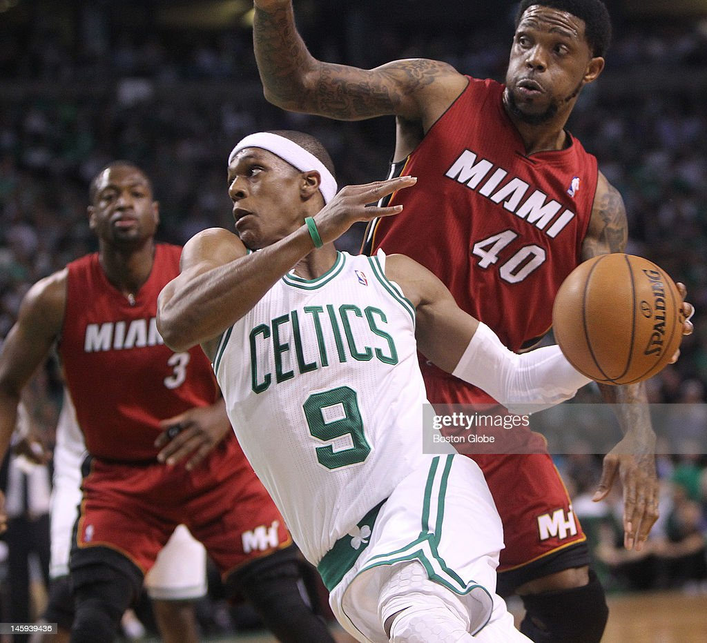 Miami Heat Vs. Boston Celtics At TD Garden : Nachrichtenfoto