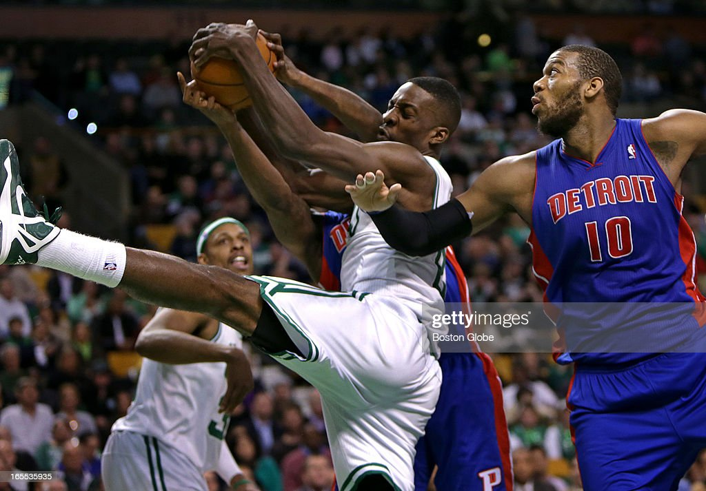 Detroit Pistons Vs. Boston Celtics At TD Garden