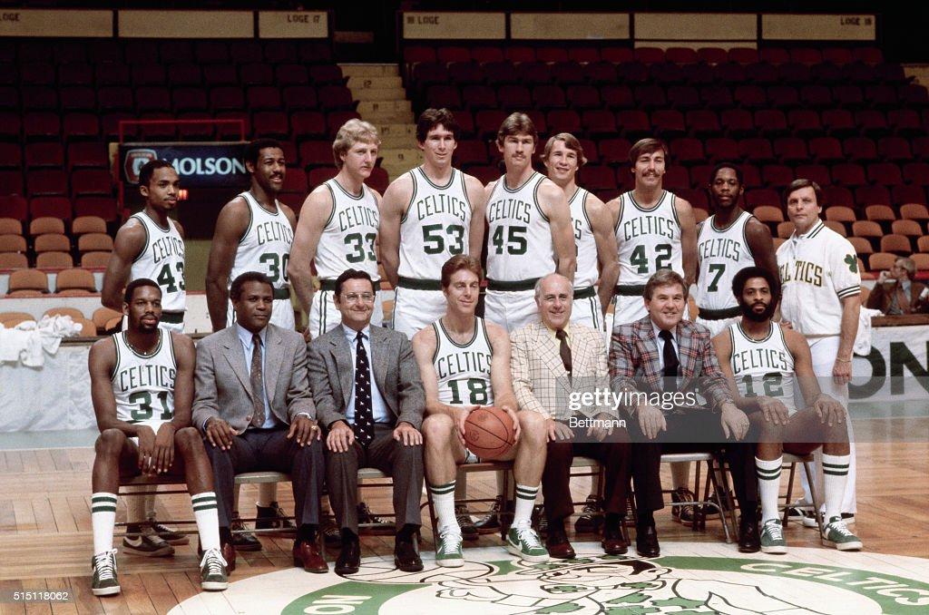 Boston Celtics Team Picture : News Photo