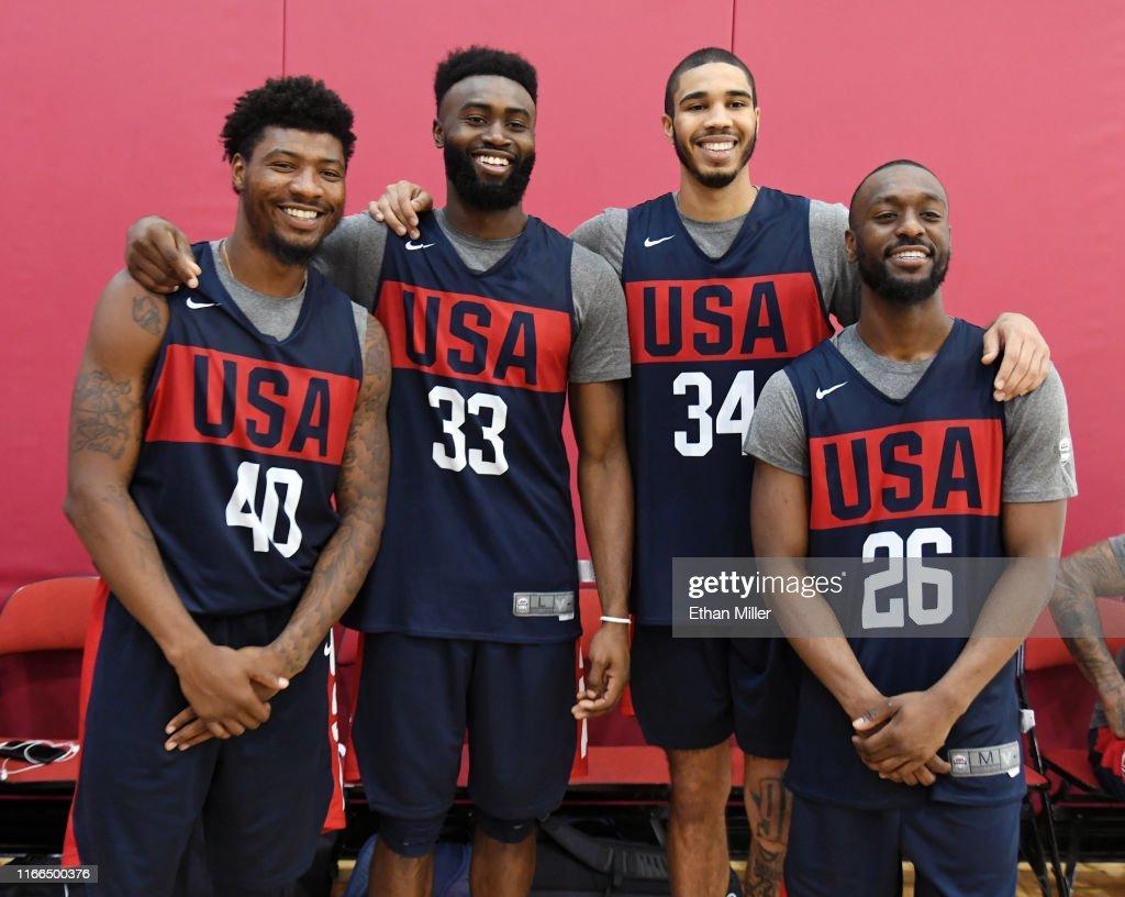 USA Basketball Men's National Team Training Session : ニュース写真