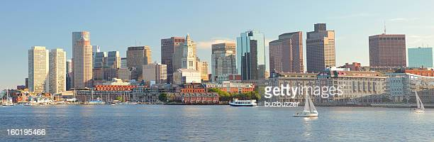 Boston City Panorama