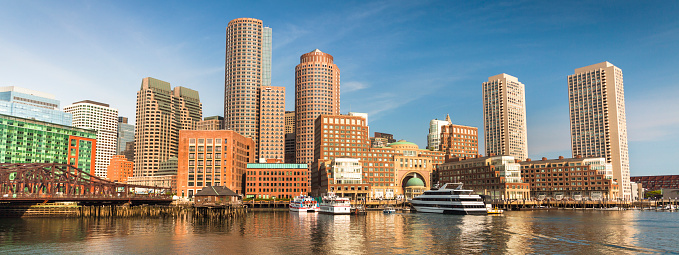 Boston city panorama skyline Massachusetts USA 1149570005