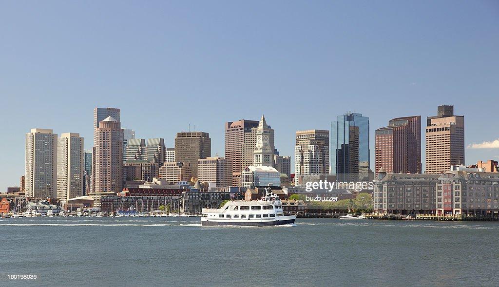 Boston City Tour Boat : Stock Photo