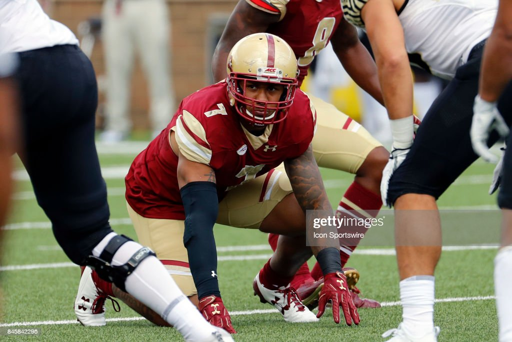 COLLEGE FOOTBALL: SEP 09 Wake Forest at Boston College : News Photo