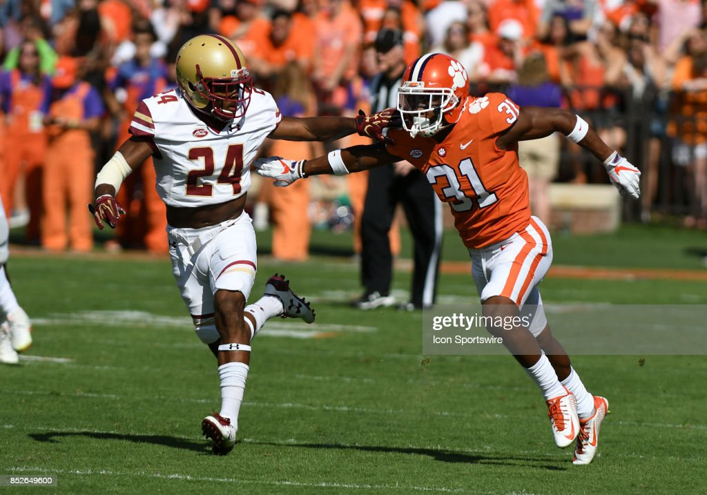 COLLEGE FOOTBALL: SEP 23 Boston College at Clemson : News Photo