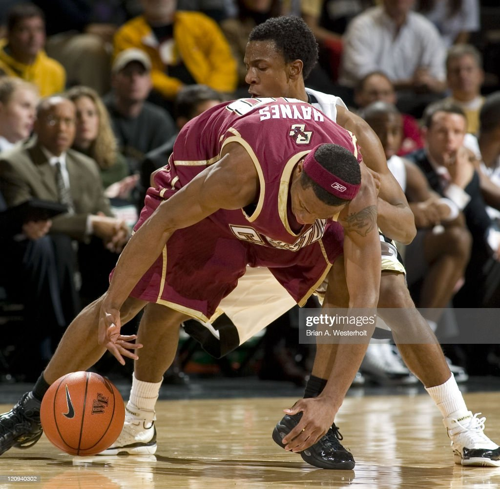 NCAA Men's Basketball - Boston College vs Wake Forest - January 9, 2007