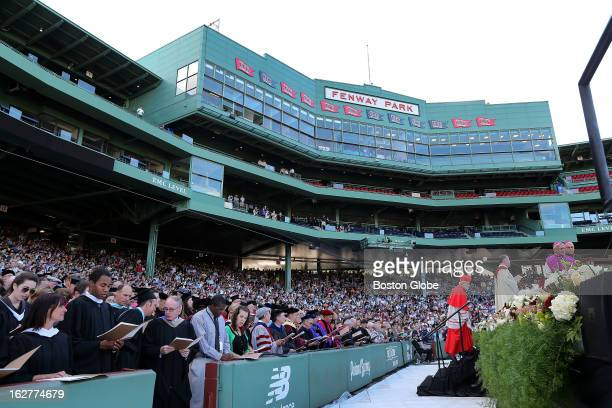 Boston College kicks off its Sesquicentennial with a Mass held at Fenway Park