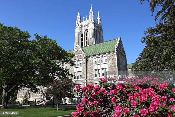 boston college - jesuit stock photos and pictures