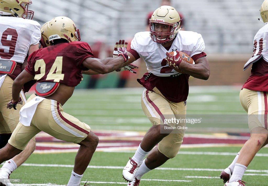 Boston College Football Practice