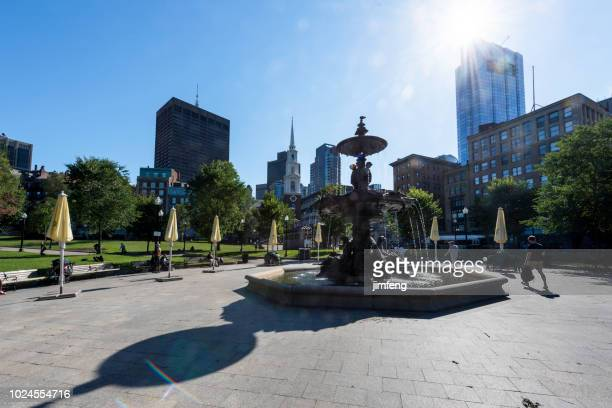 Boston Common public park