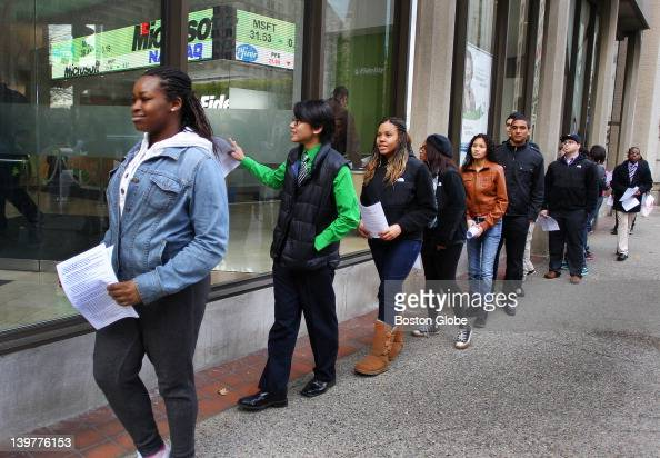 Boston Community Leadership Academy Student Tatyanah Belin Is The News Photo Getty Images
