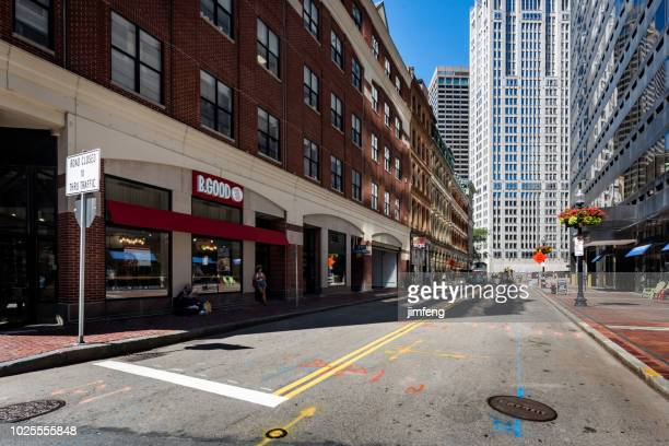 ボストンのダウンタウン - アベニュー ストックフォトと画像