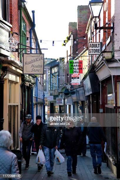 Boston England Lincolnshire Stadt der Migration