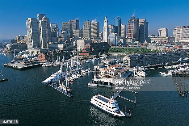 Boston Harbour, Massachusetts, USA