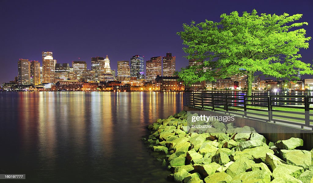 Boston Lakeside : Stock Photo
