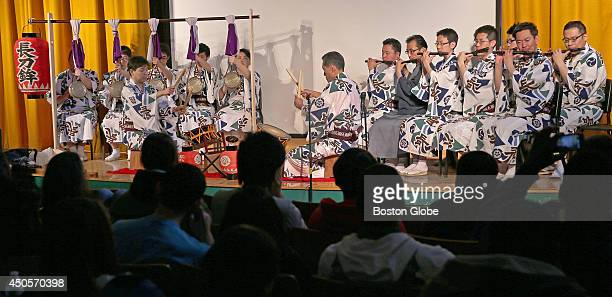 Boston Latin Academy students who study Japanese got some visitors from Kyoto, Japan and members of Gion Gestival Naginata-boko Ensemble to celebrate...