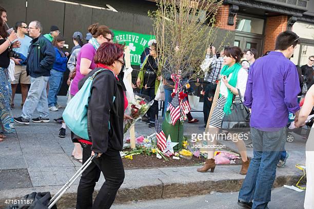 Boston Marathon Bomb Site