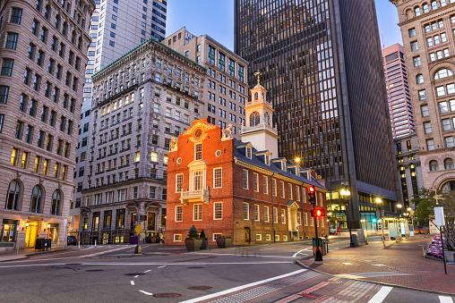 Boston Massachusetts Cityscape 626235870